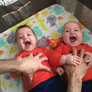 How This Twin Dad Is Rocking Fatherhood