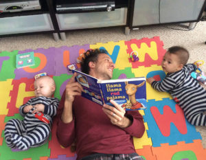 How This Twin Dad Is Rocking Fatherhood
